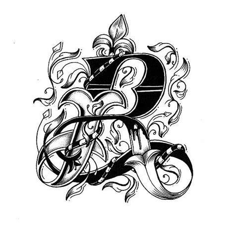 letter design tattoos clipartmag