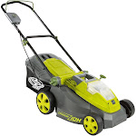 "Sun Joe 16"" 40-Volt Cordless Lawn Mower (battery + charger"