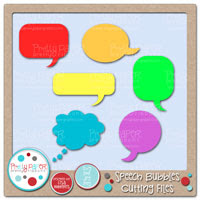 Speech Bubbles Cutting Files