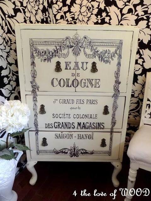 DIY-French bath cabinet