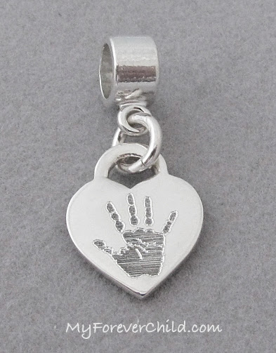 Simple Dangle Bead with Personalized Charm