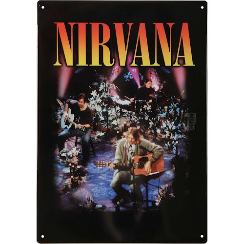Nirvana Tin Sign - Mtv