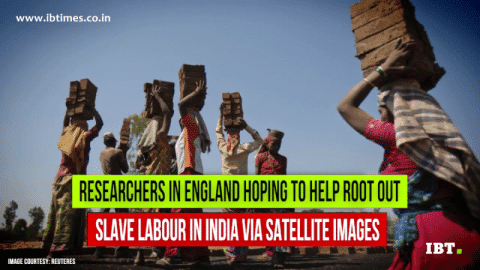 Satellite images could identify slave labour in India [VIDEO]