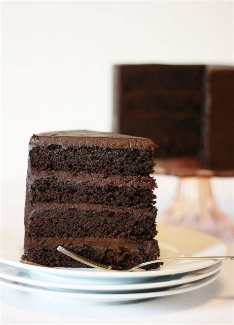 American Mud Cake with Sour Cream Chocolate Frosting