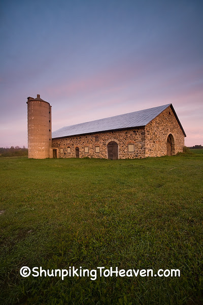 Historic Chase Stone Barn, Oconto County, Wisconsin