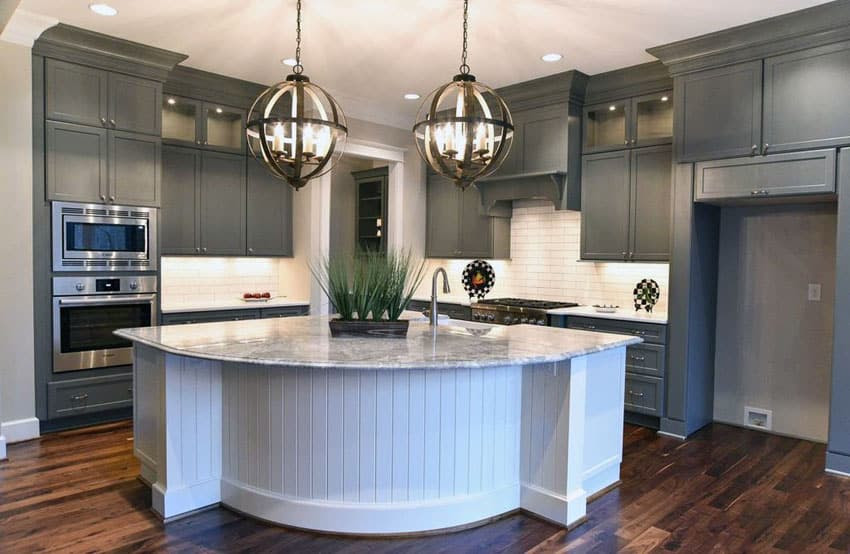 30 Gray and White Kitchen Ideas - Designing Idea