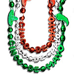 Blinkee 597410 Cinco De Mayo Bead Necklaces Assorted Color - Pack of 12