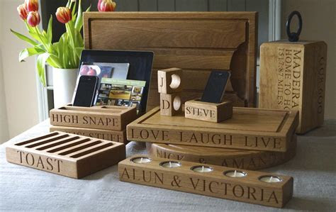 Stunning personalised wooden gifts