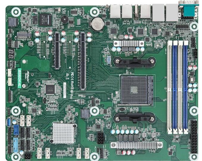 ASRock Rack B550D4-4L server board supports AMD Ryzen 5000 processors