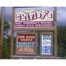 Shirley's Home Cooking sign