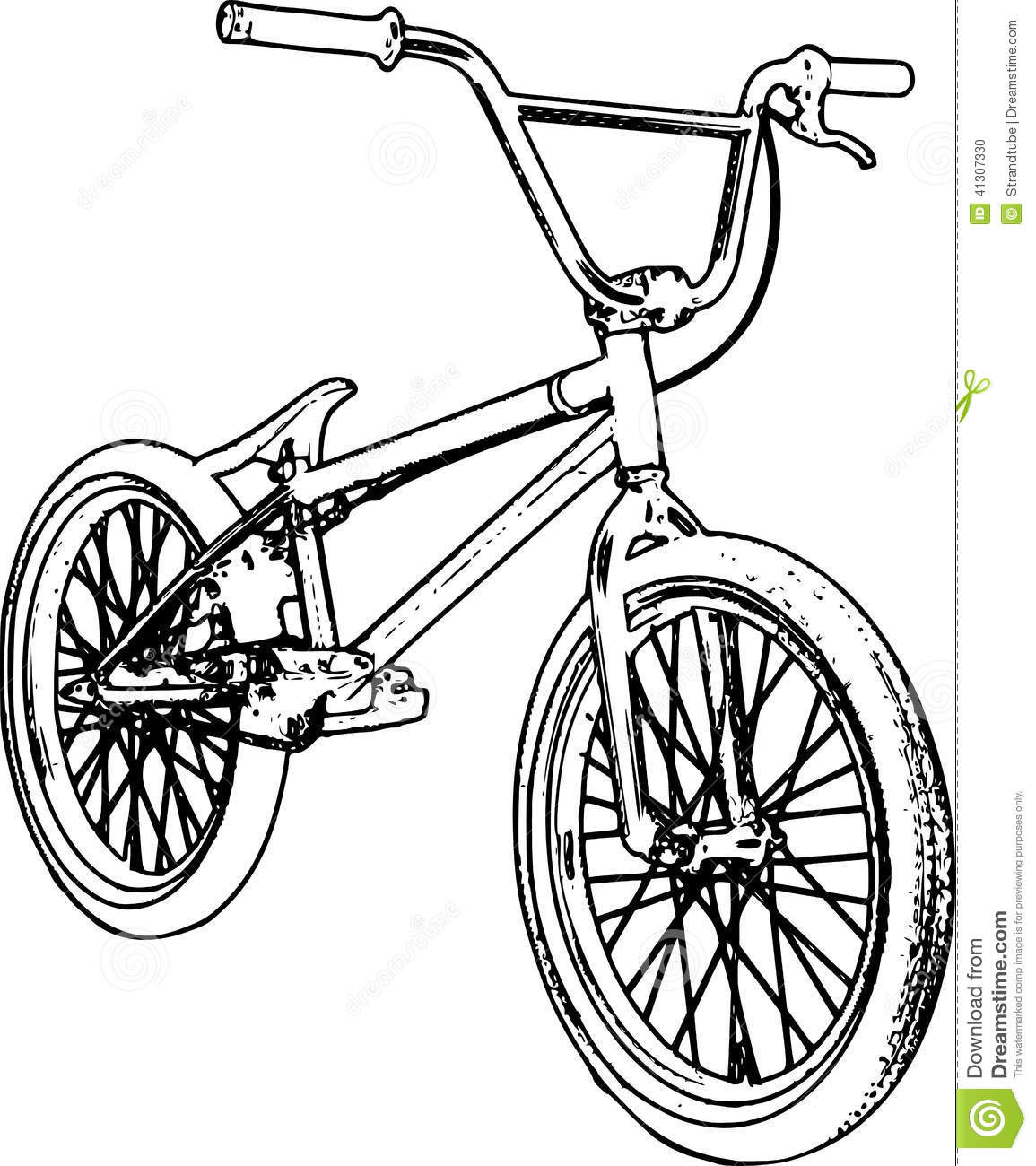 19 bmx bikes drawings Colouring Pages