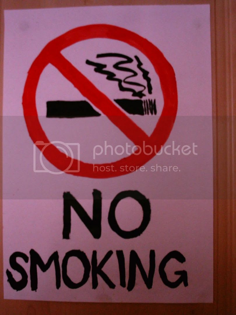 Smoking is bad for your health! DON'T DO IT KIDZ!