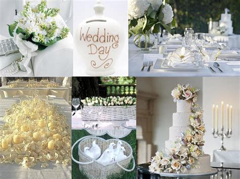 Pure white wedding decoration ? Weddings on the French