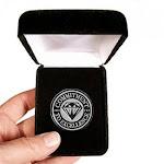 Velvet presentation Box - Commitment to Excellence Lapel Pin