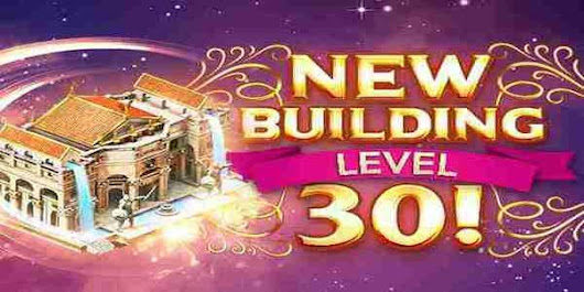New Buildings Level 27-30 - Inside Game of War