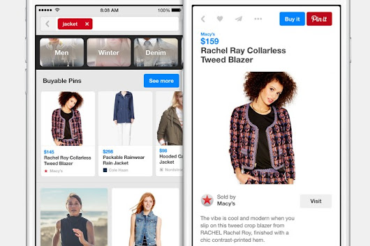 Pinterest's new Buyable Pins let you purchase items directly in the app