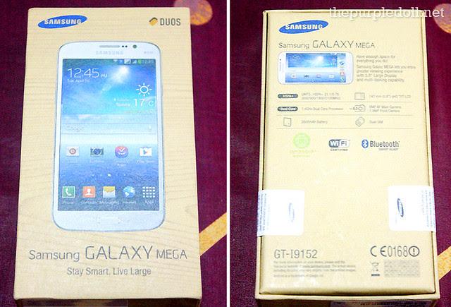 Samsung Galaxy Mega 5.8 Duos Giveaway