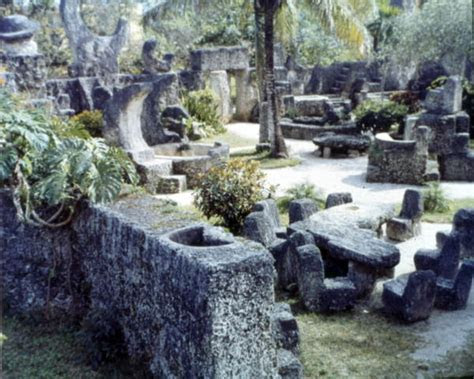 Florida Memory   View inside the Coral Castle attraction
