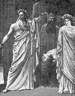 Druids performing Human Sacrifice