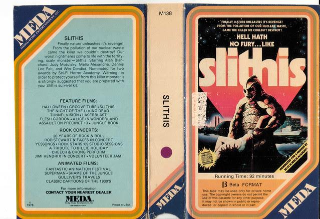 Slithiis (VHS Box Art)