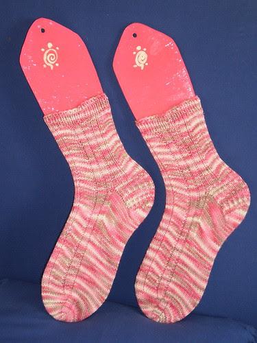 Ampersand Socks finished
