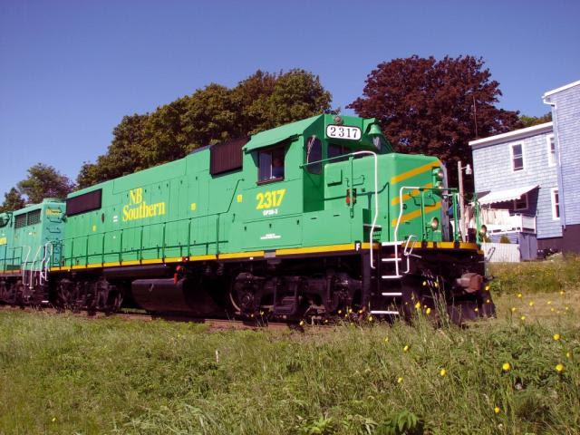 NBSR 2317 in Saint John, 2007