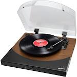 ION Audio - PREMIER LP Bluetooth Stereo Turntable - Wood