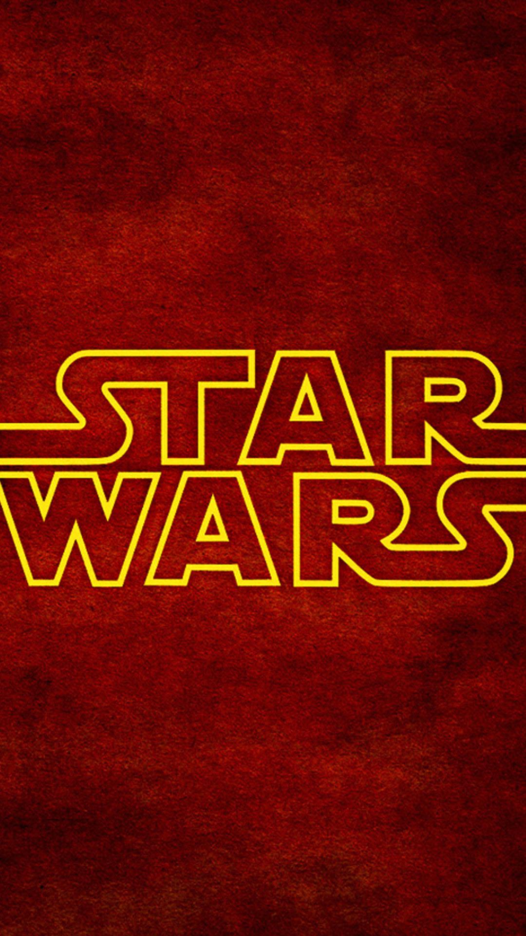 Iphone 6 Star Wars Logo Wallpaper