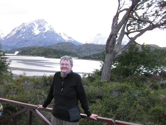 Enjoying the beauty of Torres del Paine in Chile