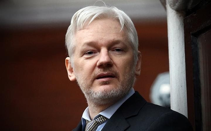 Julian Assange has been living inside the Ecuadorian embassy in London for more than four years