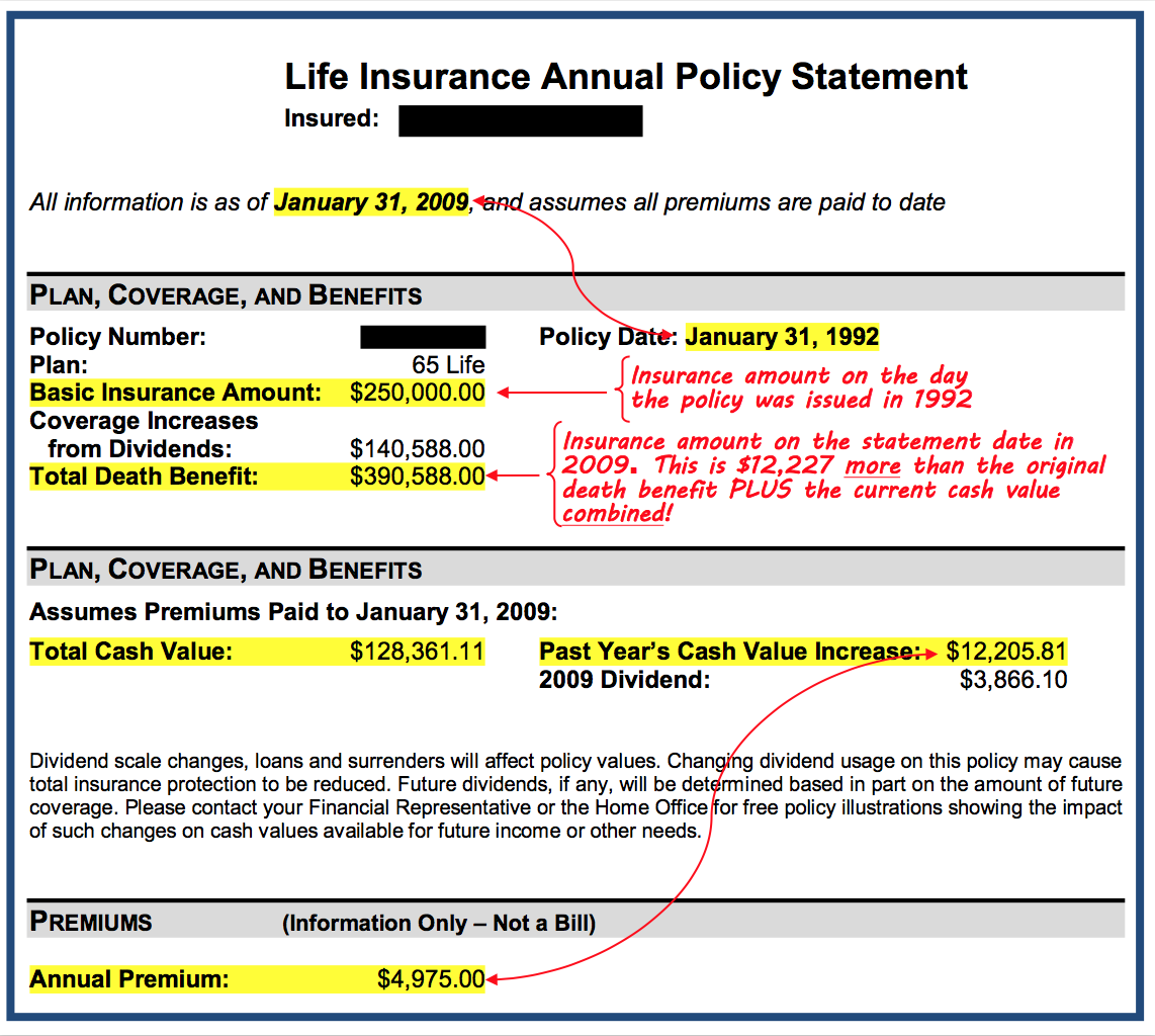 How Can Whole Life Insurance Premiums Remain Level? - Bank ...