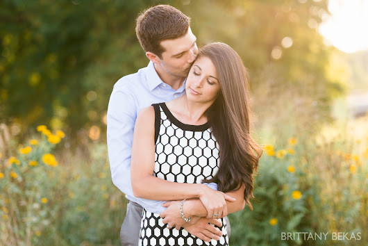 LINCOLN PARK ENGAGEMENT PHOTOS // sara + andrew | chicago wedding photography // brittany bekas photography