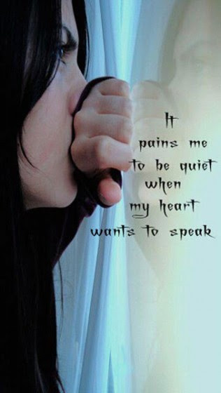 Silence Painful Quotes Quotes About Silence And Pain Quotesgram