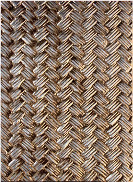 Spellbinders M Bossabilities Basket Weave 3 D Embossing Folder