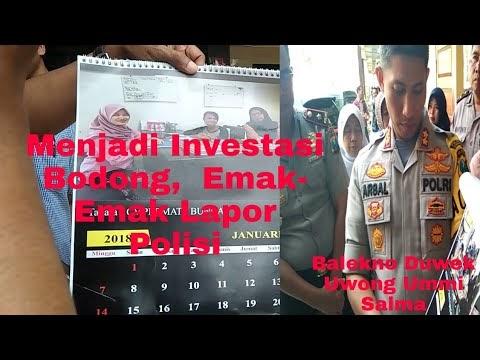 Jadi Korban Investasi Bodong,  Emak-Emak Lapor Polis