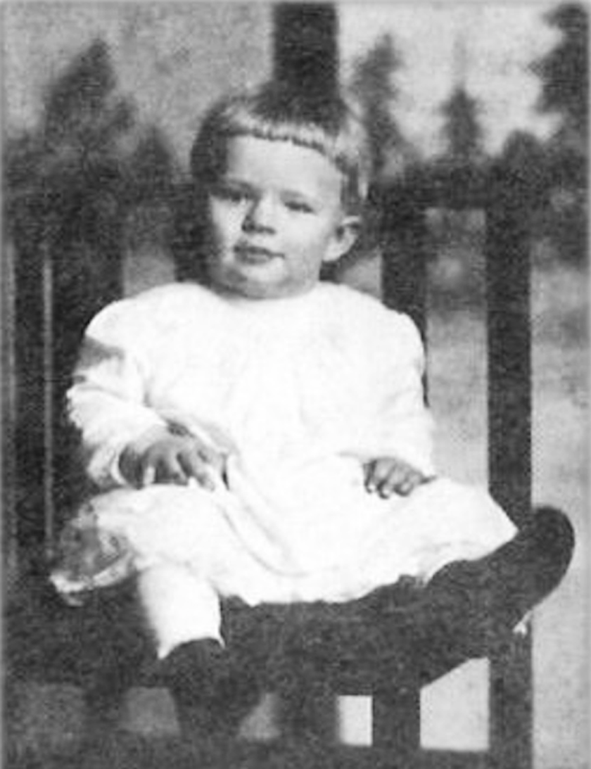 Robert Pershing Wadlow was born on February 22, 1918, and weighed a healthy 8 pounds 6 ounces. Soon after his birth, he began to grow at an astounding rate. In this photo, 6-month-old Wadlow weighed 30 pounds, about twice the normal weight for his age.