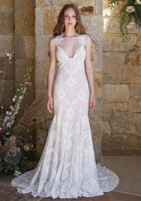 Contemporary Romance: Claire Pettibone Wedding Dresses