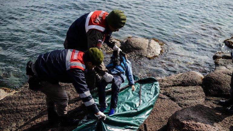 Al menos 39 personas murieron en el mar Egeo