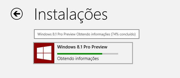 Instalando o Windows 8.1  (Foto: Reprodução/Helito Bijora)