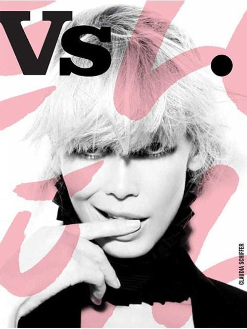 Claudia Schiffer in Vs. Magazine