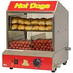 Benchmark 60048 Dogpound Hotdog Steamer 120v 1170w 98a