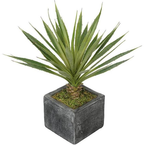 House of silk flowers artificial baby yucca plant in ceramic cube house of silk flowers artificial baby yucca plant in ceramic cube mightylinksfo