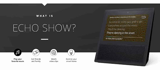 "Echo Show | Alexa-enabled Bluetooth Speaker with 7"" Screen - Black"