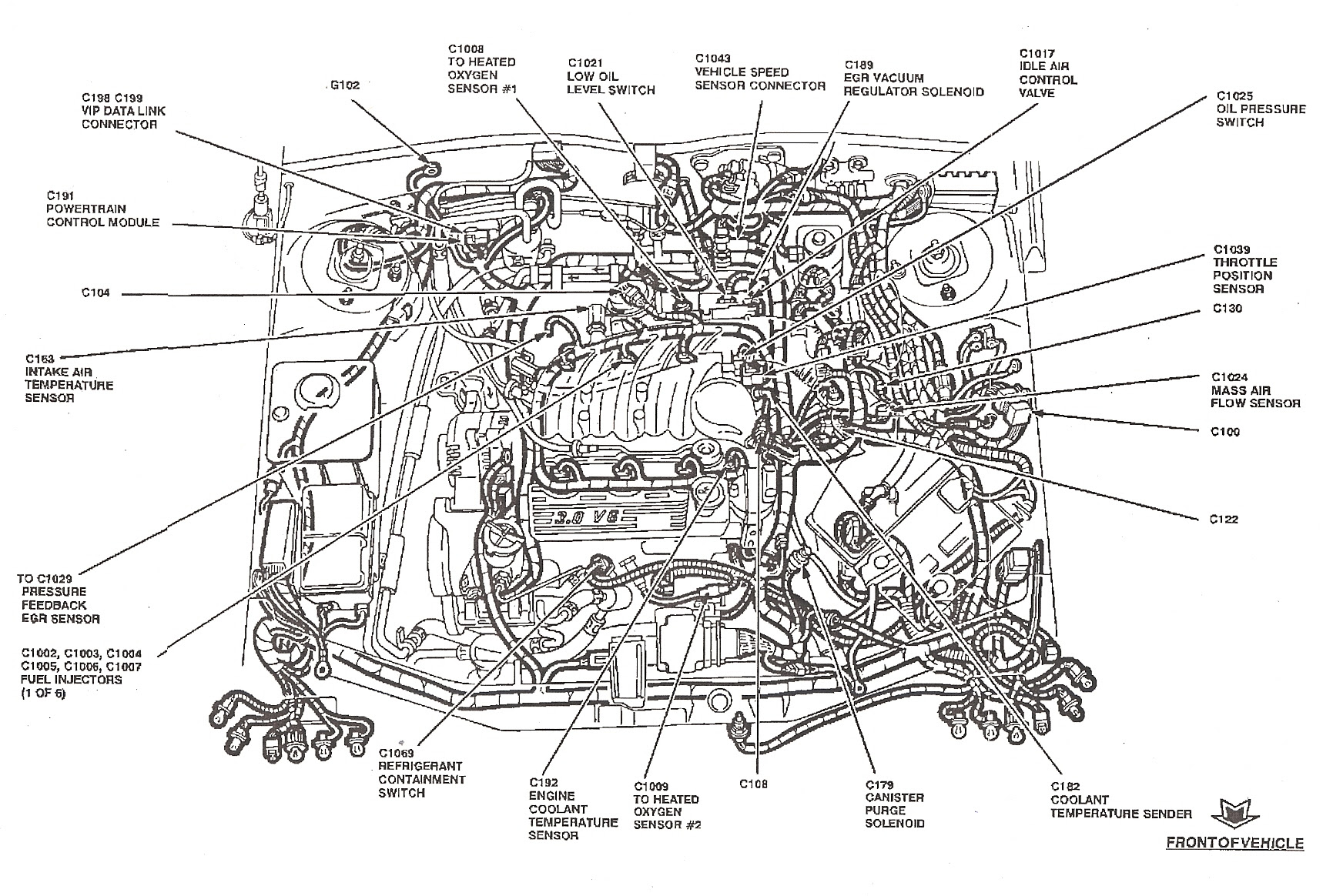 1988 Ford Taurus Engine Diagram Wiring Diagram Frame Frame Cfcarsnoleggio It