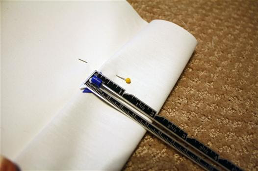 Cut blackout liner for drapery panels