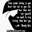 Some People Belong In Your Heart