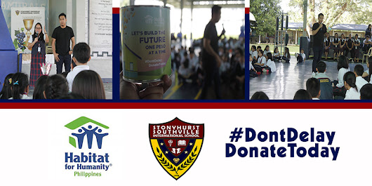Stonyhurst Southville International School - Top School in Batangas - SSIS Raises Charitable Kids through Habitat for Humanity
