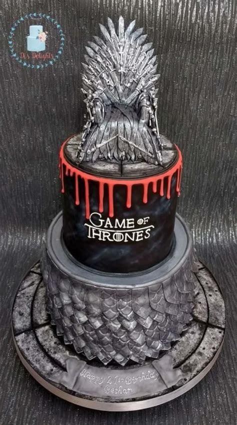 """Le più belle torte """"Il Trono di Spade"""" per compleanno e"""