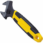 "Stanley 90-948 Maxsteel Adjustable Wrench With 1-1/4"" Opening, 8"""