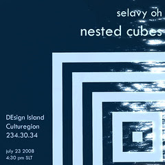 nested cubes invite II
